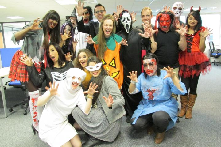 Dress up day for Halloween