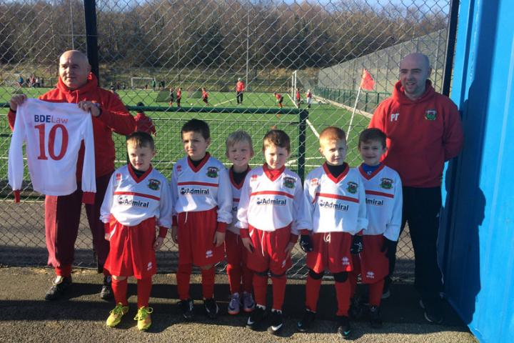Cefyn Fforst Under 7's Football Team