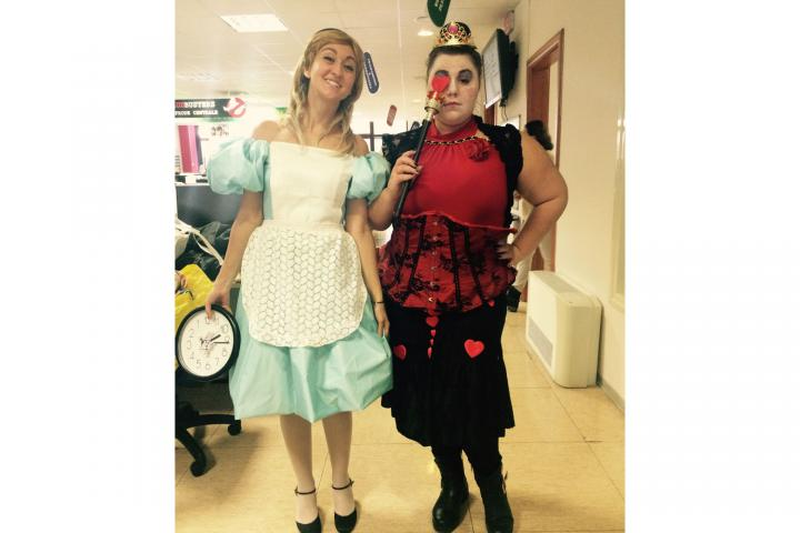 ConTe staff celebrate Carnevale with a fancy dress day