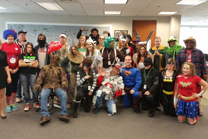 USA staff dress up day