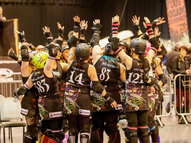 The Reaper Roller Girls received funding from Admiral Community Chest