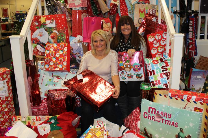 Staff at Admiral took part in the Mr X Appeal, donating over 1,000 Christmas presents to disadvantaged children in Swansea